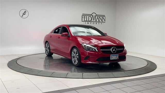 Used 2018 Mercedes-Benz CLA CLA250 with VIN WDDSJ4GB3JN693788 for sale in Bloomington, Minnesota