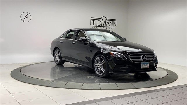 Certified 2018 Mercedes-Benz E-Class E300 with VIN WDDZF4KB2JA334351 for sale in Bloomington, Minnesota