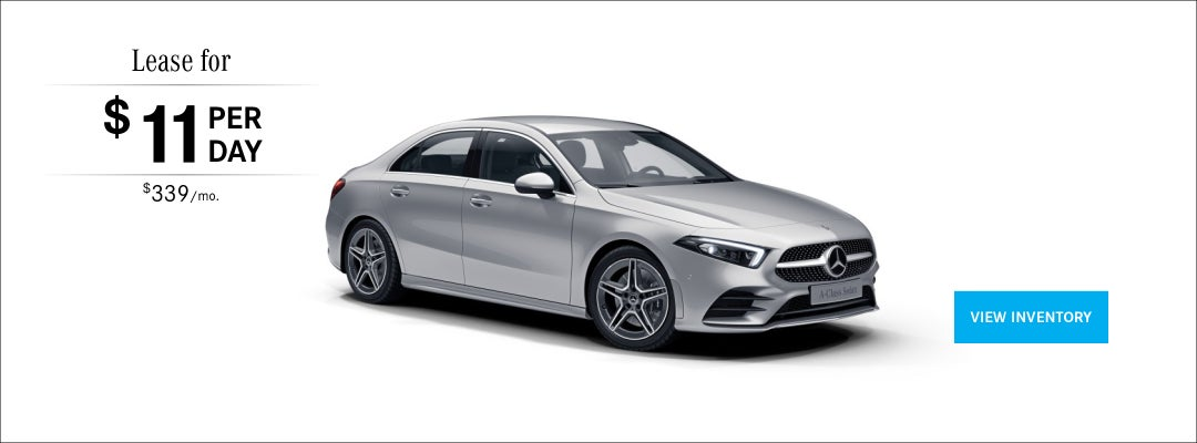 Mercedes Benz Lease >> Lease Specials